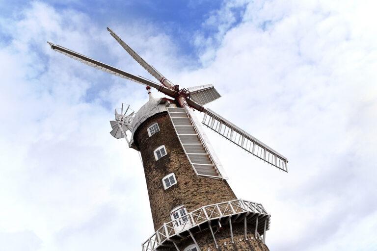 Burghley Marsh Windmill, Lincolnshire