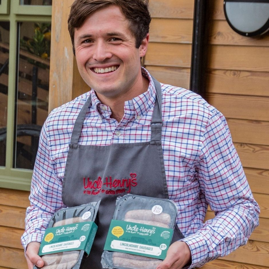 Pictured: Graham Ward, General Manager at Uncle Henry's Farm Shop