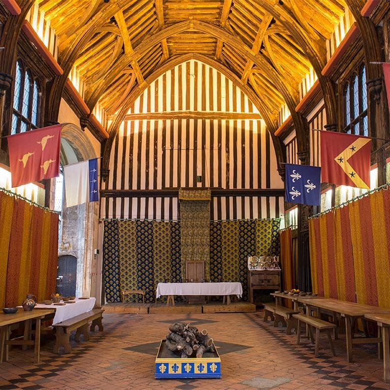 Gainsborough Old Hall Interior