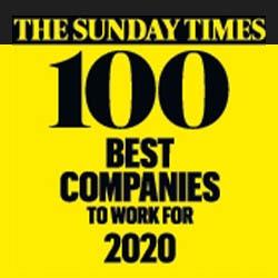 Sunday Times 100 BEST COMPANIES