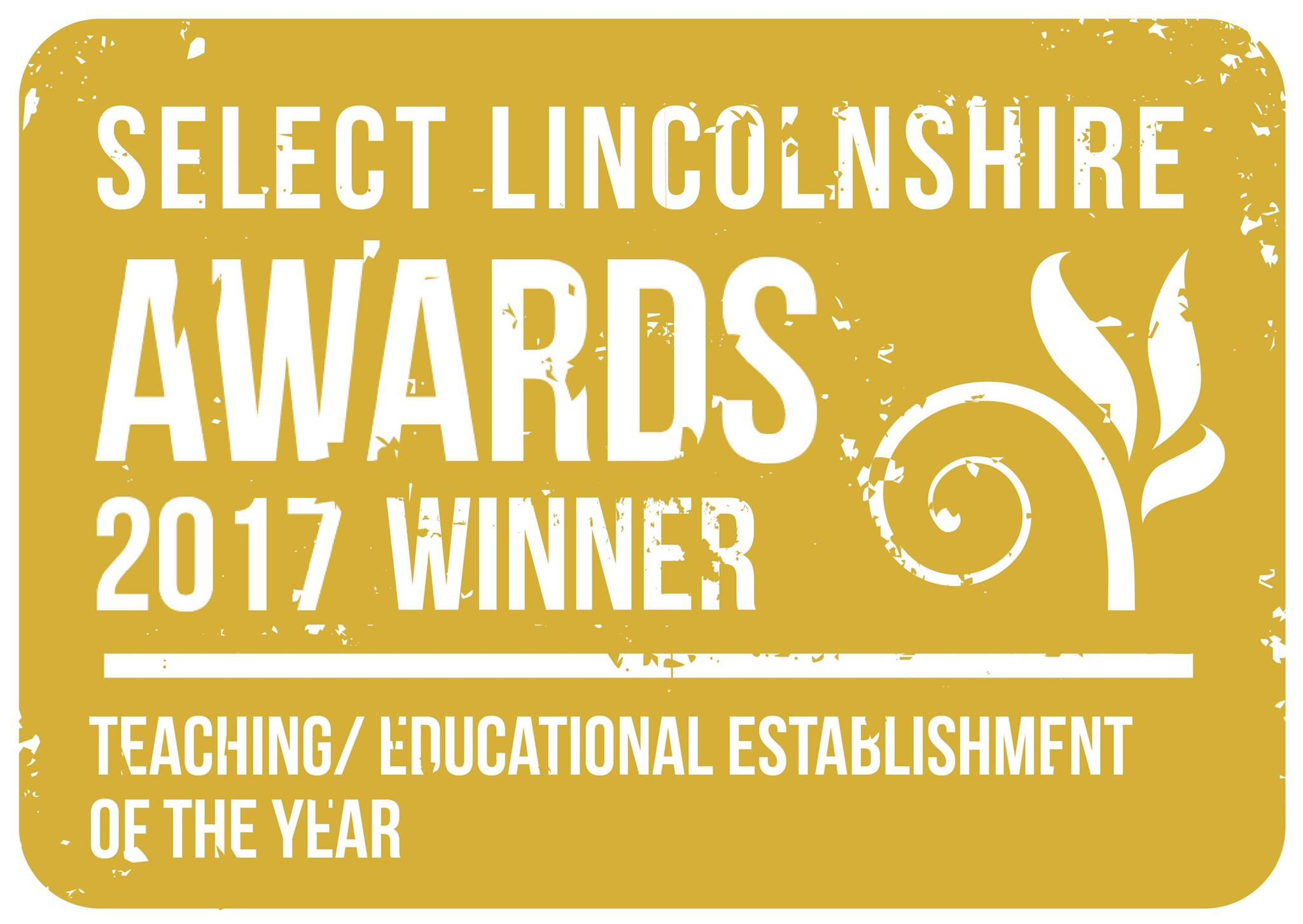 Select Lincolnshire Awards 2017 Winner