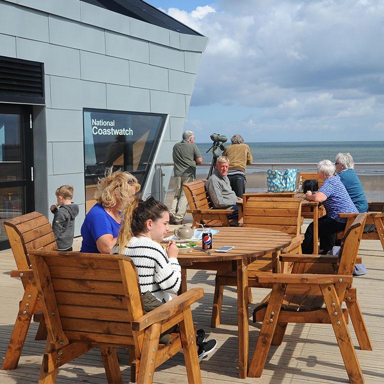 North Sea Observatory cafe