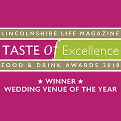 Taste of Excellence Wedding Venue of the Year