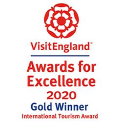 Visit England Awards for Excellence Gold Award