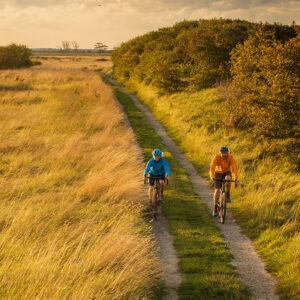 Donna Nook cycling path