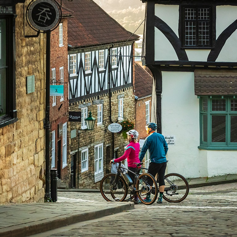 Historic Lincoln Cycling Route