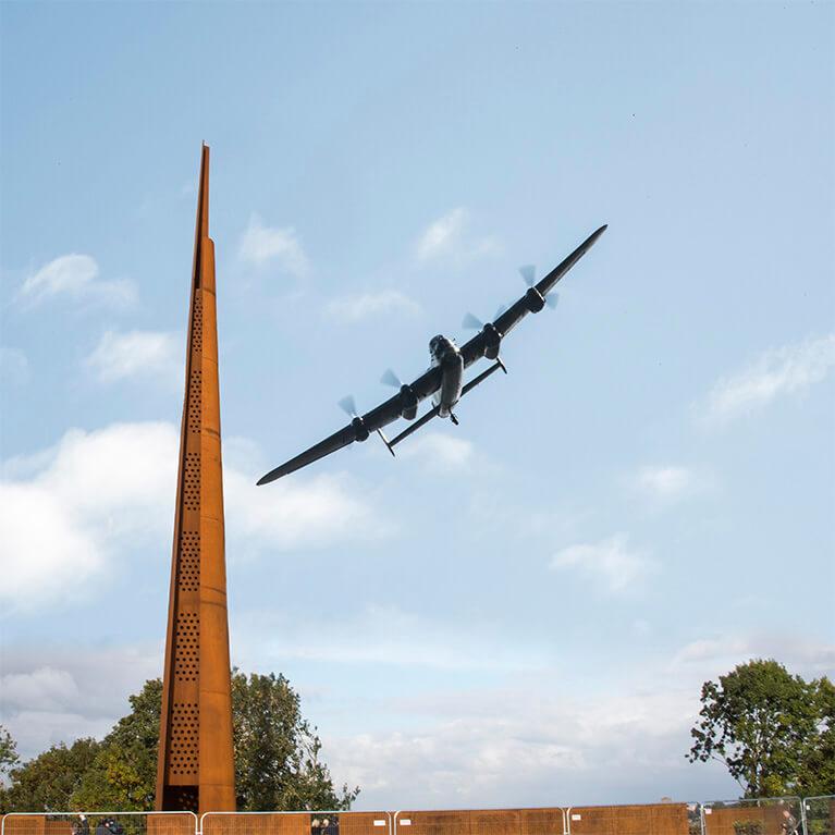 International Bomber Command Flypast