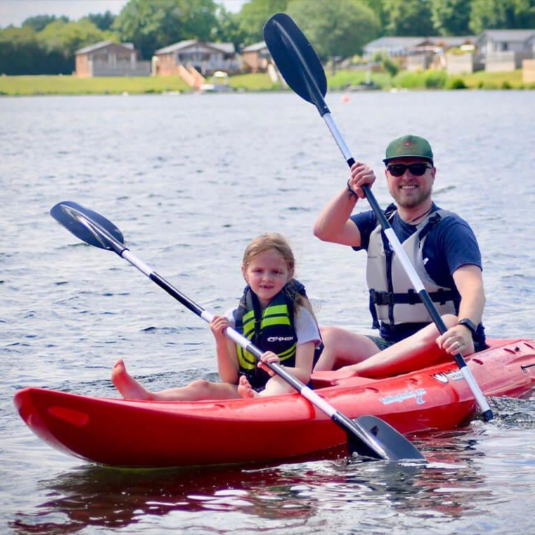 Kayaking at Tallington