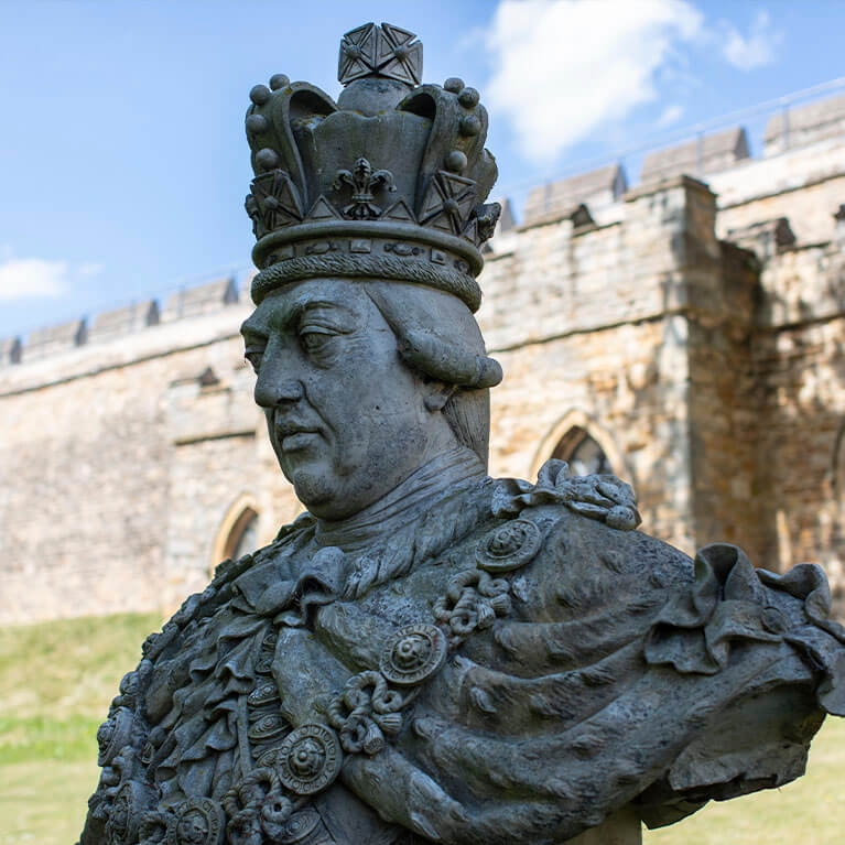 Lincoln Castle King George III
