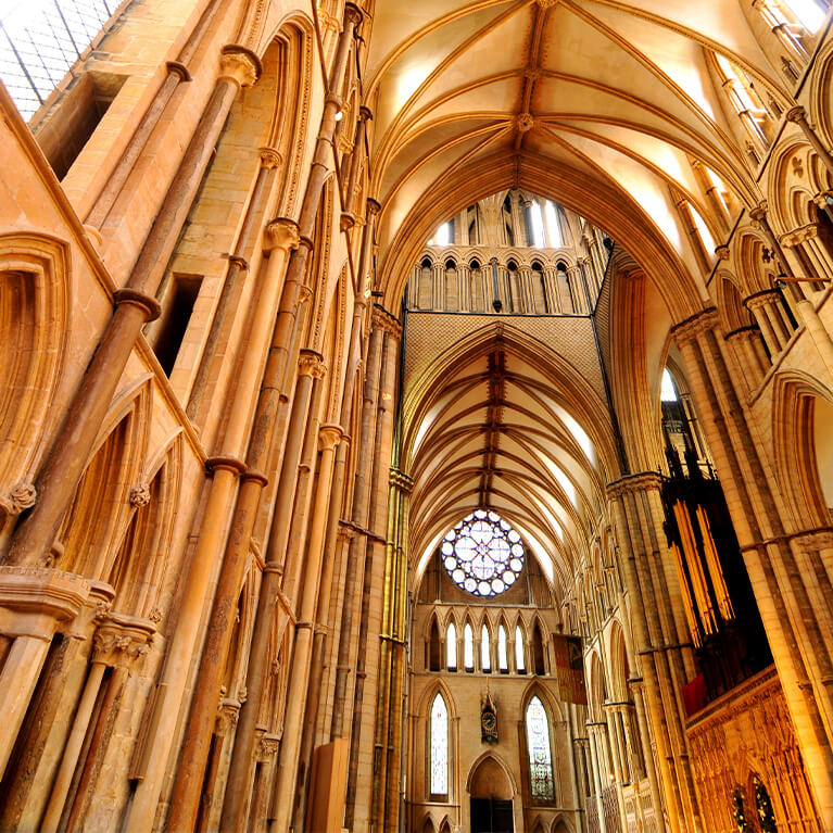 Lincoln Cathedral Ceiling