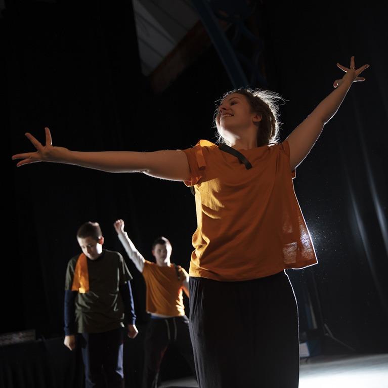 The Hub Dance Performance