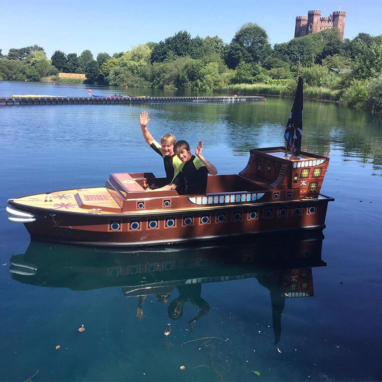 Pirate Boat at Tattershall Lakes