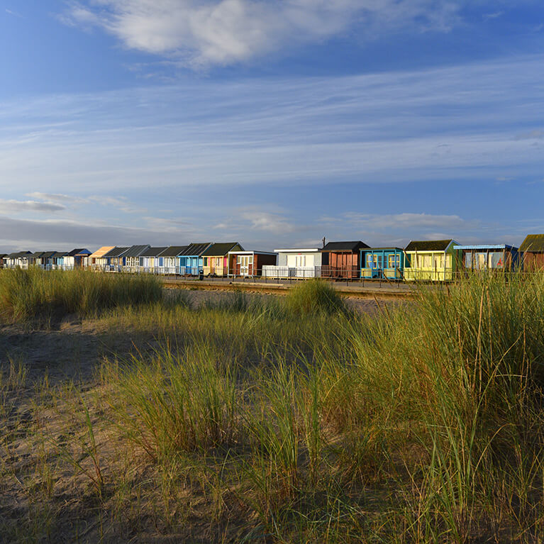 sandilands Baach huts