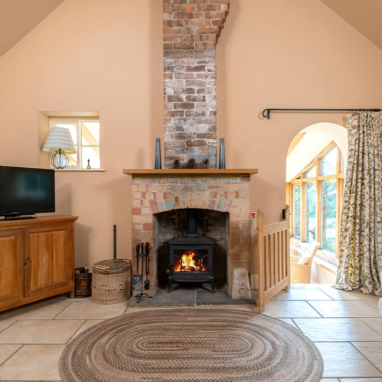 Little Walk Cottage Living Area