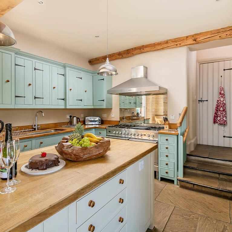 Marris Barn Kitchen