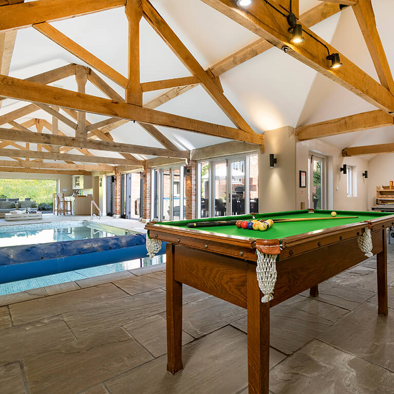 Marris Barn Pool and Games Room