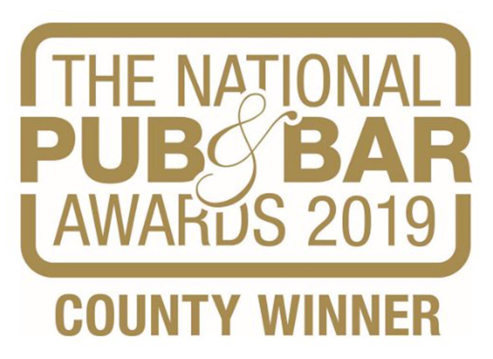 The National Pub & Bar Awards 2019 County Winner