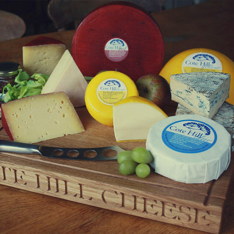 Cote Hill Cheese Selection