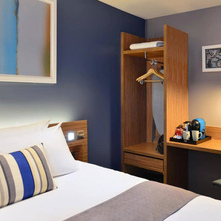 Travelodge Bedroom Close Up