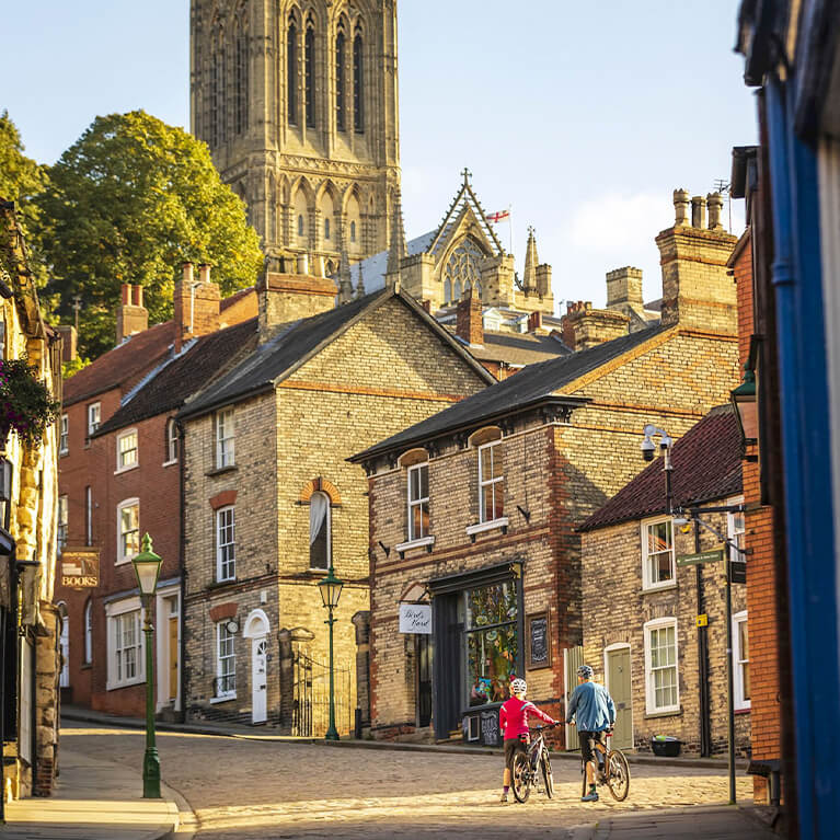 Historic Lincoln Cycle Route - Cathedral