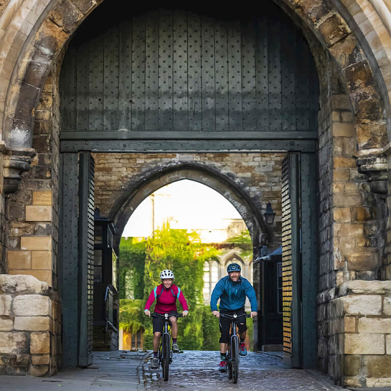 Historic Lincoln Cycle Route - Castle