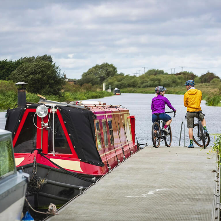Historic Lincoln Cycle Route - Water Rail Way