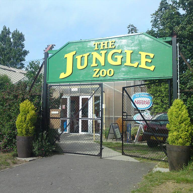 Jungle Zoo Entrance