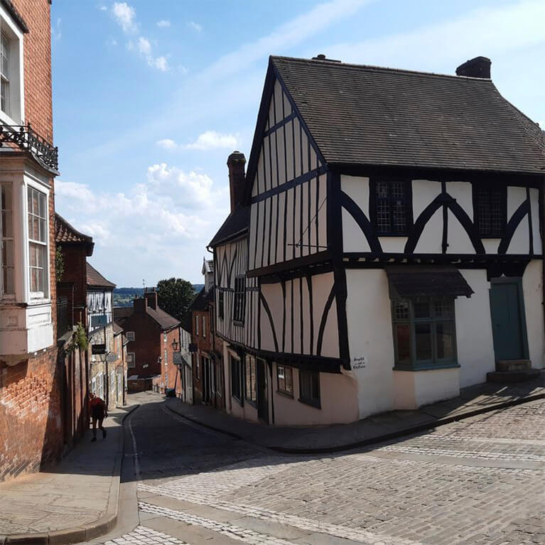 Lincoln Guided Tours Steep Hill