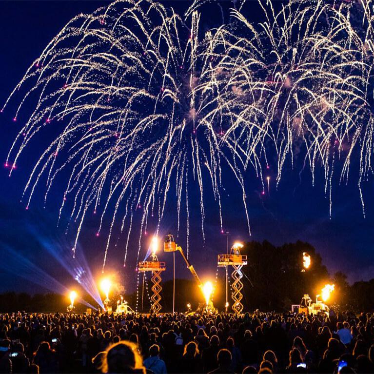Meridian Showground Fireworks