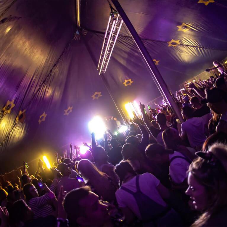 Meridian Showground Tent