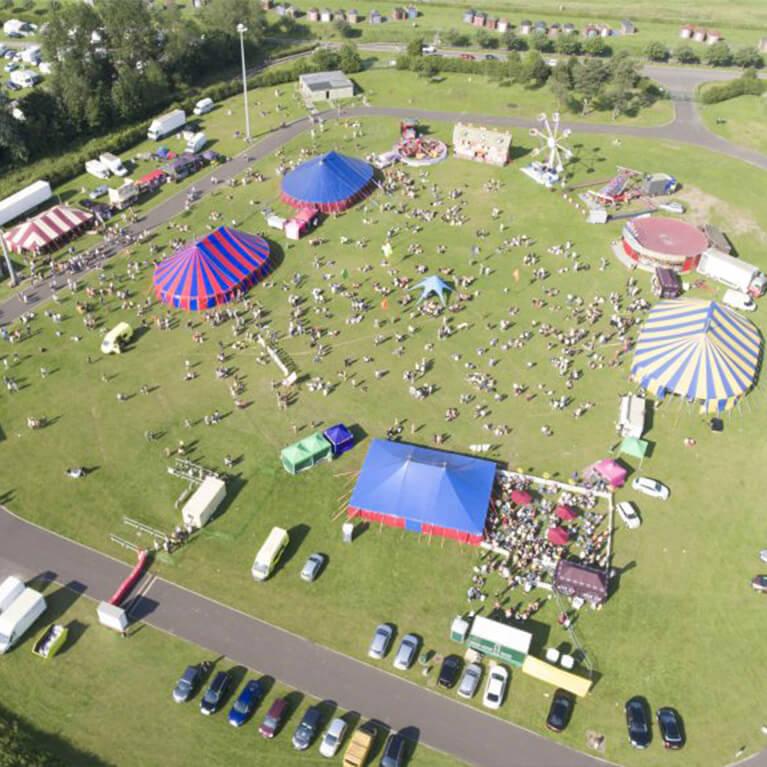Meridian Showground Aerial View
