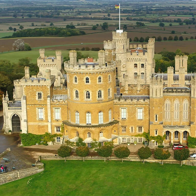 Cycle Lincolnshire Stately Homes - Belvoir