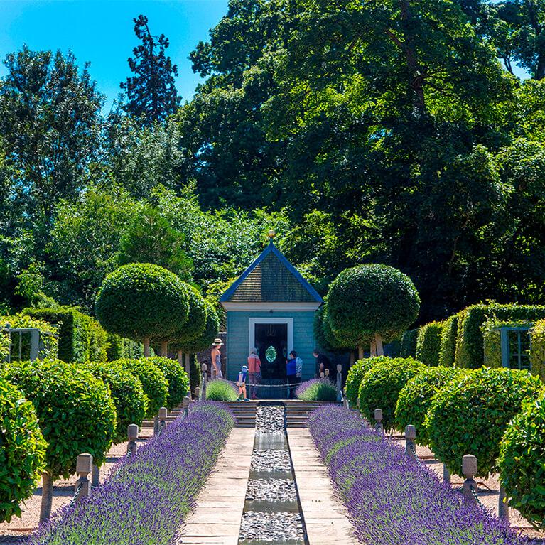 Burghley House Gardens