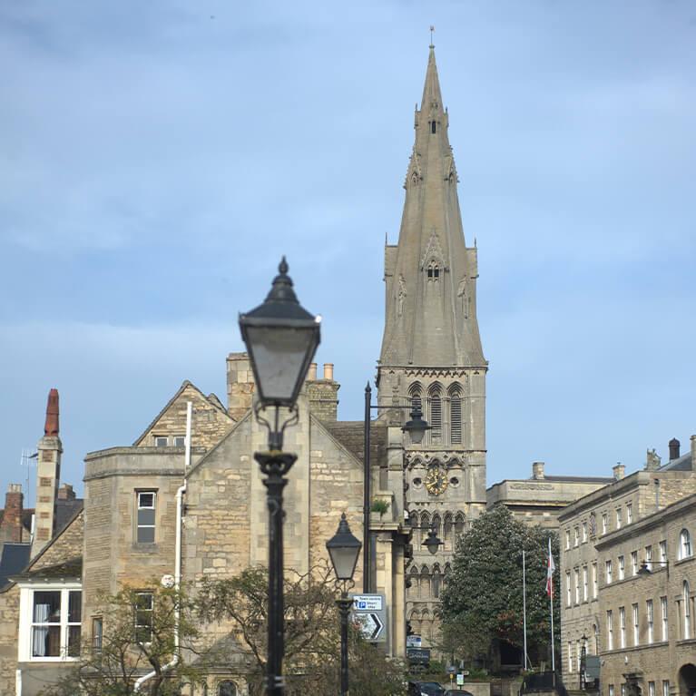 Stamford High Street St Martins