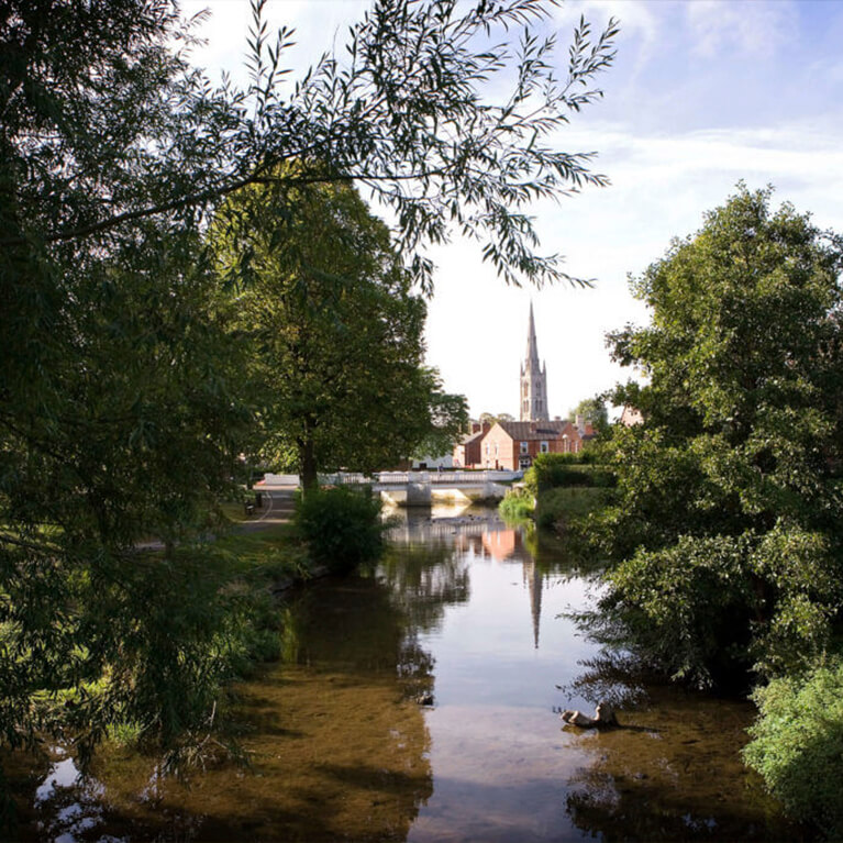 River and St Wulframs