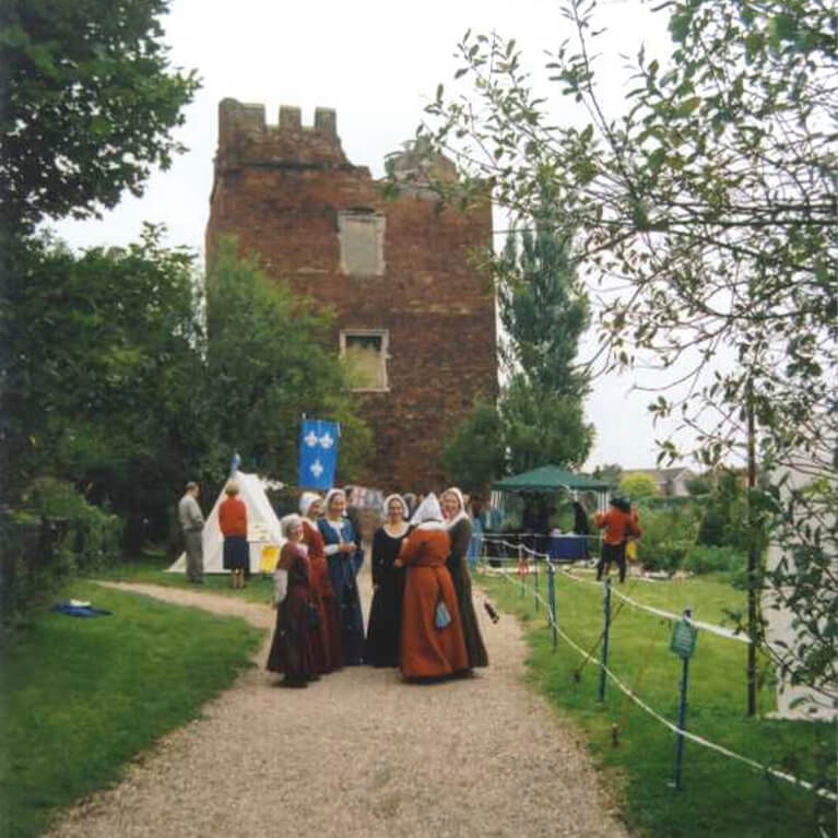 Hussey Tower Re-Enactment