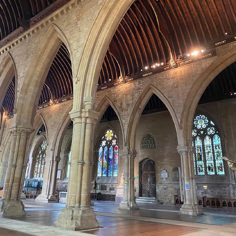 St Wulfram's North Aisle