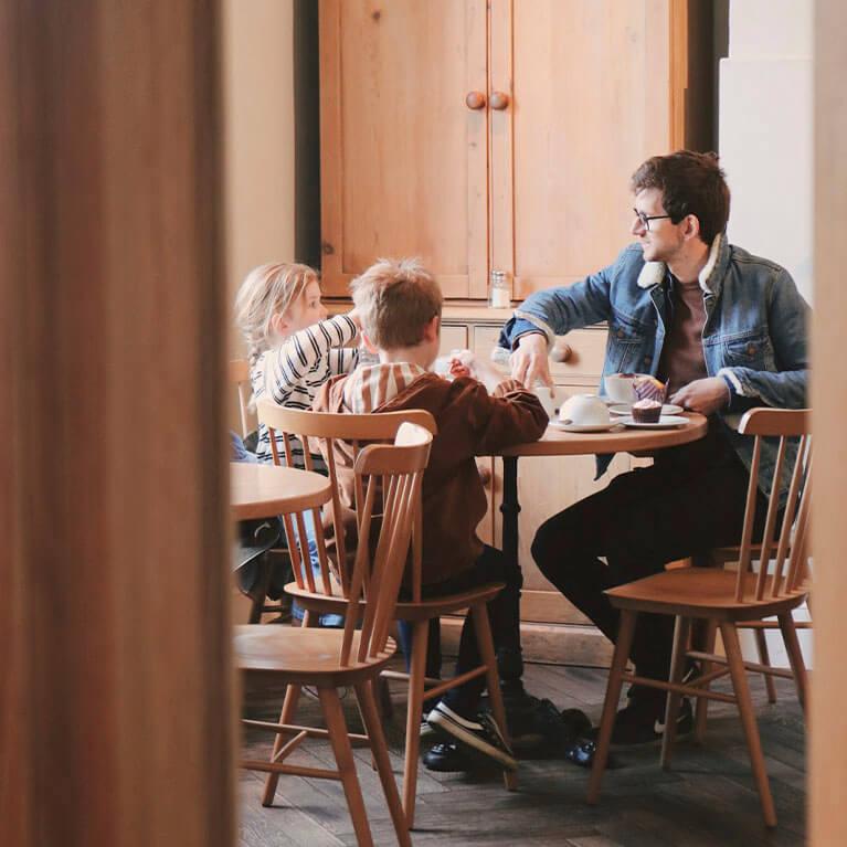 Langton's Cafe Creds: Bricks Dust & Glitter