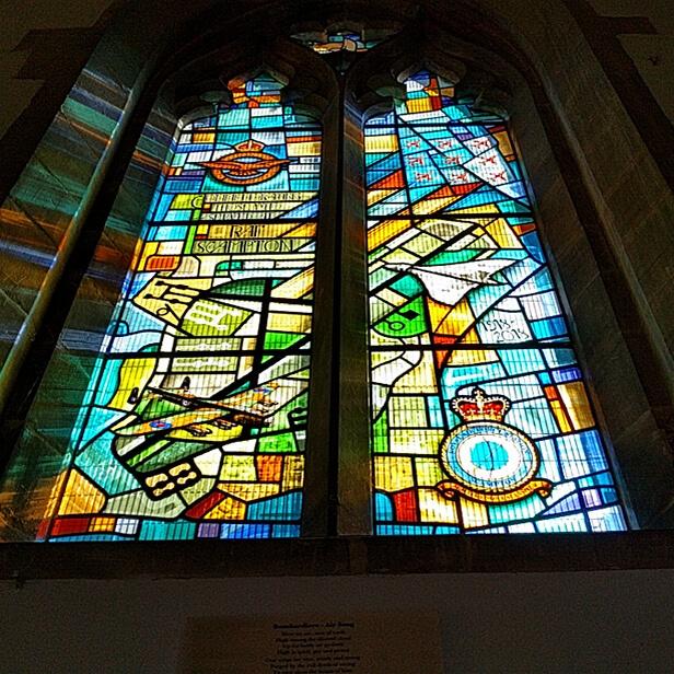 Dambusters Inn Church Window