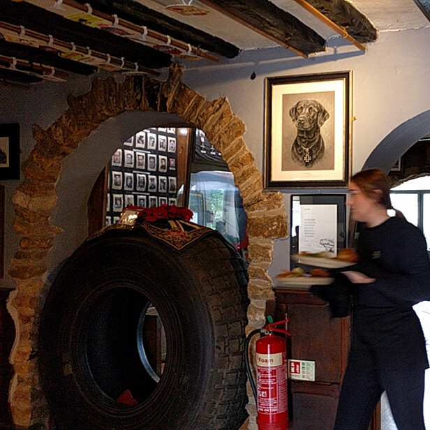 Dambusters Inn Lancaster Tyre