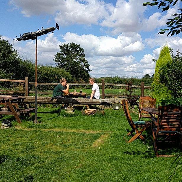 Dambusters Inn Sculpture Lancaster
