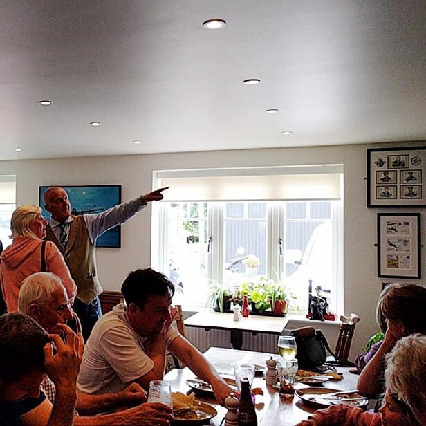 Dambusters Inn Steve Pointing