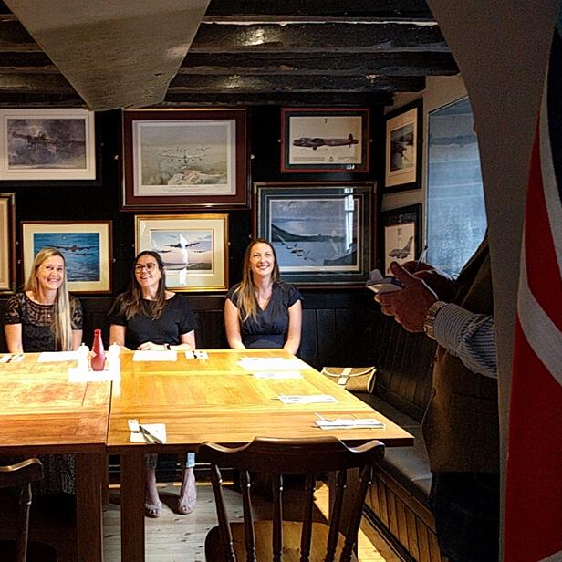 Dambusters Inn three ladies