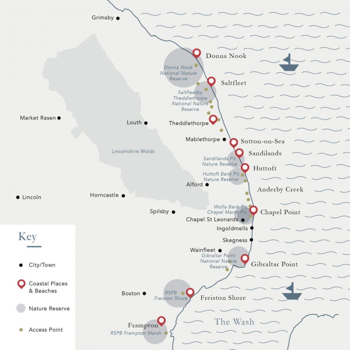 Lincolnshire-Natural-Coast-Map