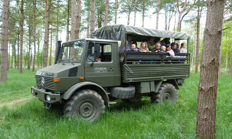 Stourton Estates Army Truck Driving Experience