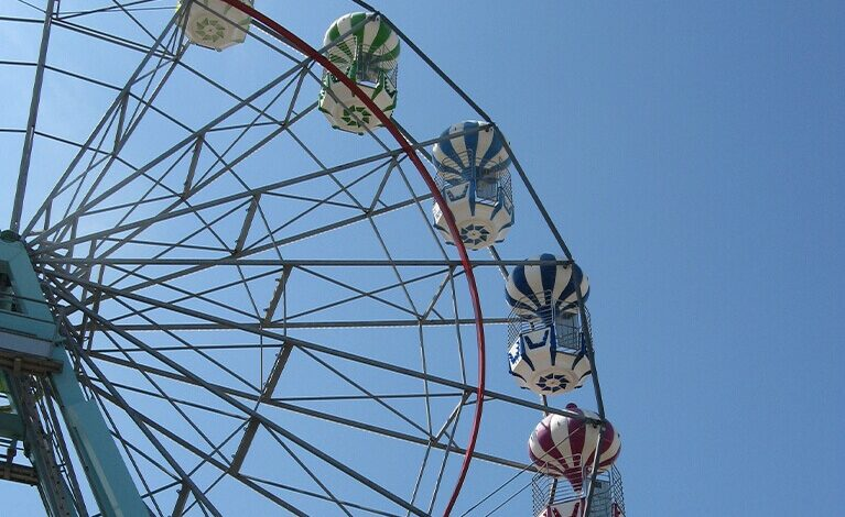 Skegness wheel